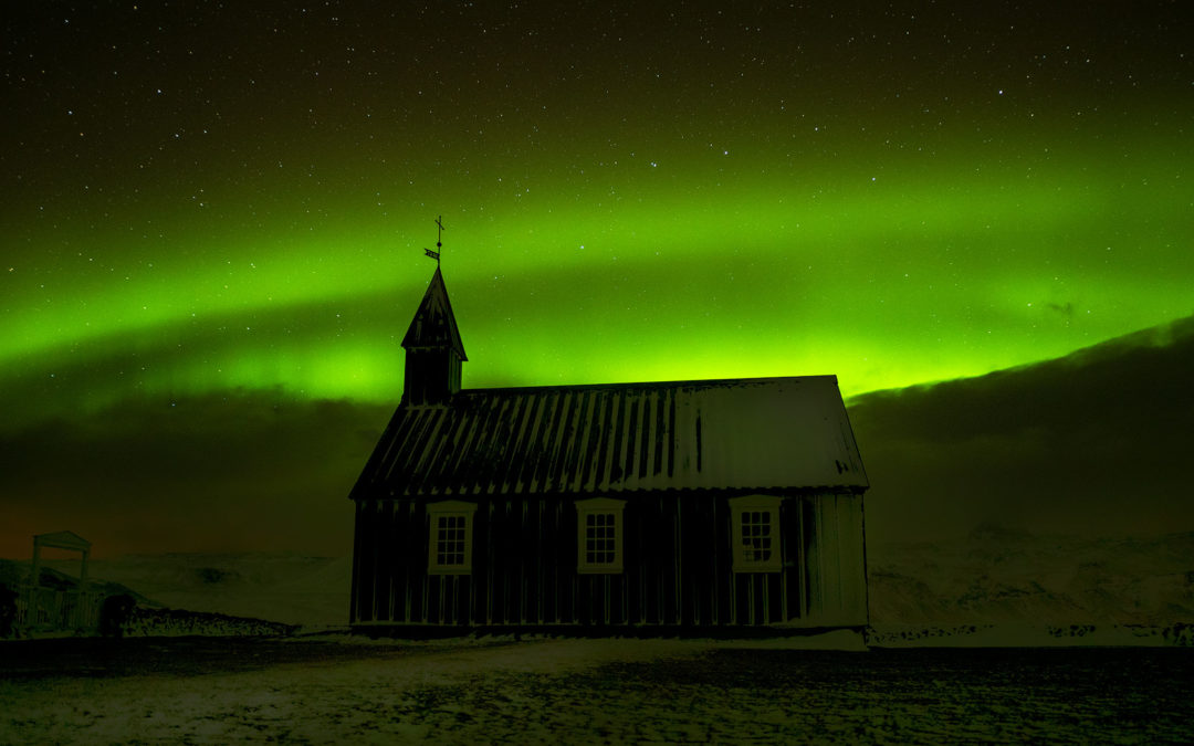 Iceland Day 5.5: Aurora at Black Church
