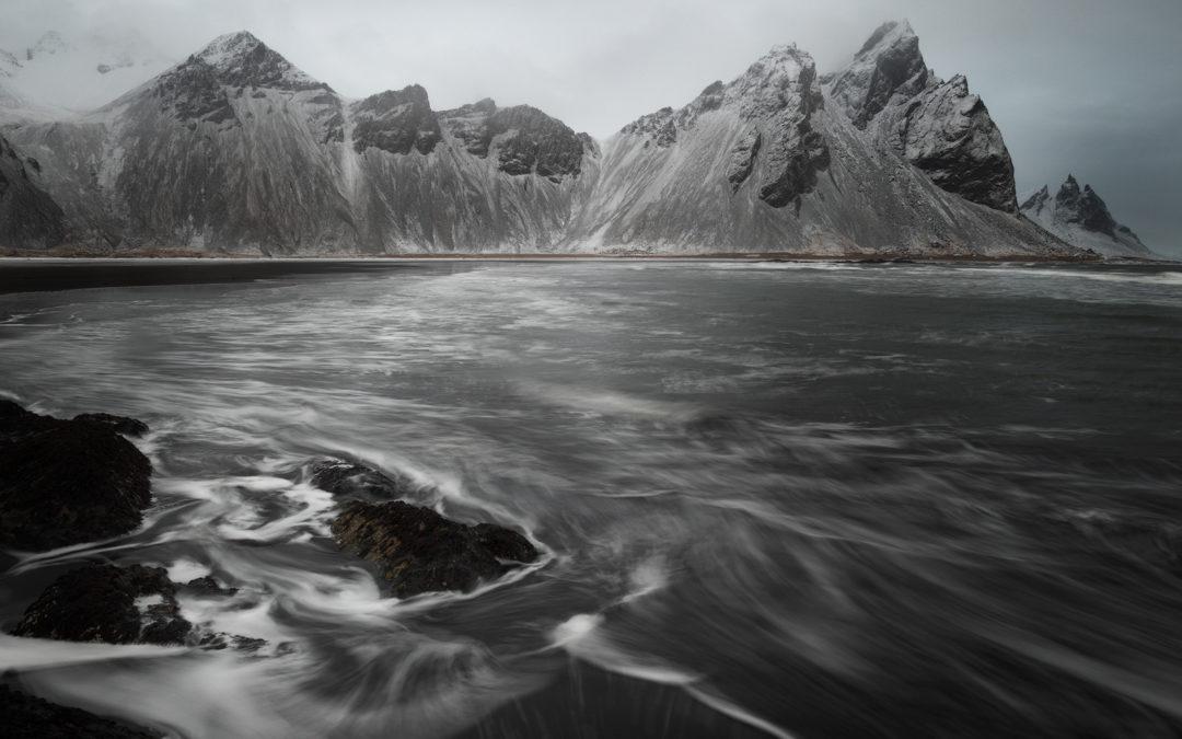 Iceland Day 9: Vestrahorn Gray