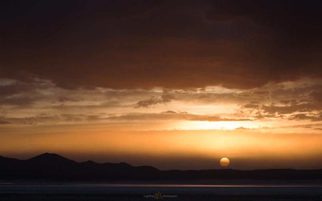 Smoke and Sunset: Grass Valley, NV